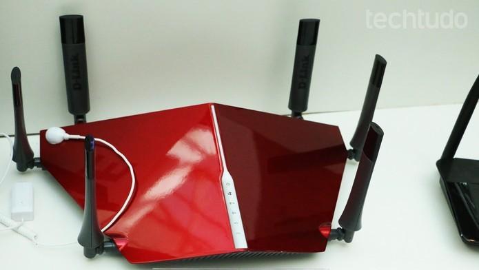 D-Link AC3200 ja e vendido no Brasil (Foto: Luciana Maline/TechTudo)