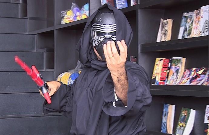 Fãs do Star Wars participam do Combinado (Foto: TV Sergipe)
