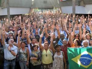 Funcionários Decidem em assembleia encerar greve de 112 dias na Unicamp (Foto: Fernanda Freitas / STU)