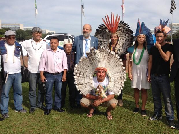 Frente ambientalista da Câmara cria grupo de trabalhos para discutir temas indígenas (Foto: Amanda Lima/ G1)