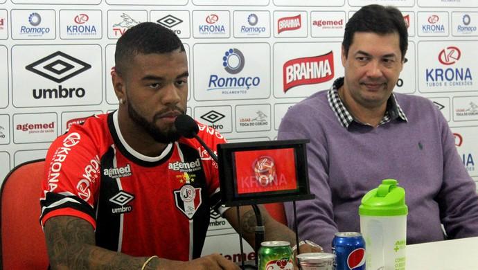 Júnior Joinville (Foto: João Lucas Cardoso/JEC)