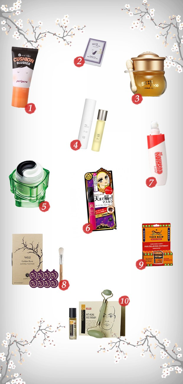 Vitrine produtos orientais (Foto: Divulgao)