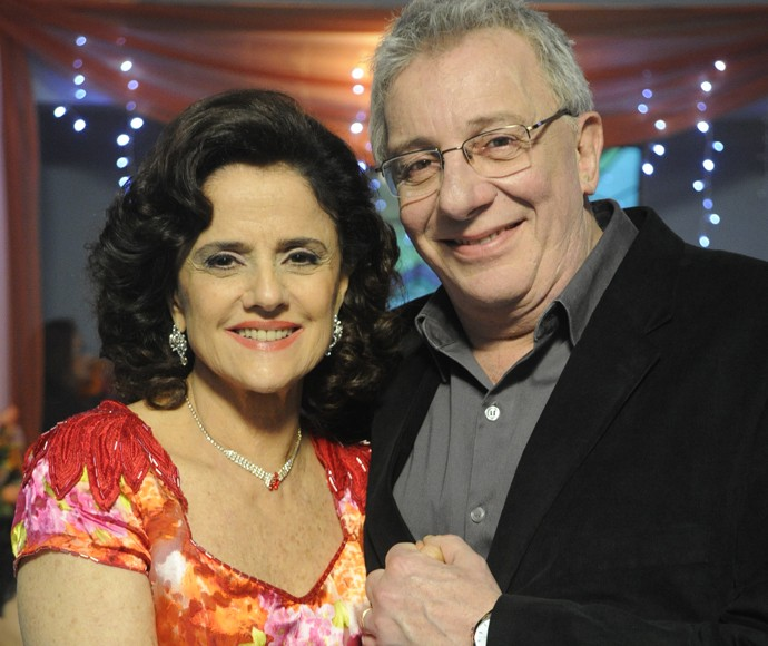 Nenê e Lineu: impossível esquecer o casal que conquistou o Brasil! (Foto: Renato Rocha Miranda / TV Globo)