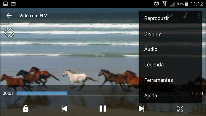 MC Player permite assiste vídeos em FLV com legenda (Foto: Reprodução/Barbara Mannara)
