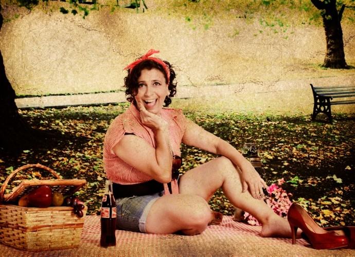 Viviane realizou o sonho de fazer um ensaio sensual (Foto: Reprodução / Patrícia Rosa)