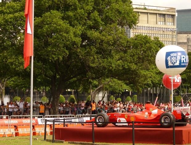 Felipe Massa evento rio de janeiro (Foto: Globoesporte.com)