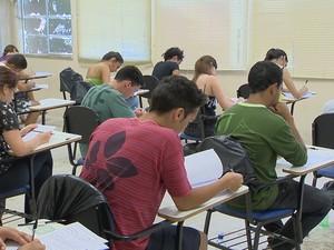 Estudantes Juiz de Fora UFJF (Foto: Reprodução/TV Integração)