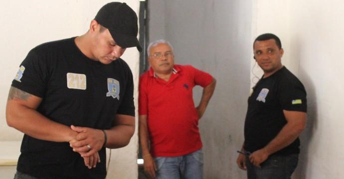 Jankel Costa - Eleições Flamengo-PI (Foto: Emanuele Madeira/Globoesporte.com)