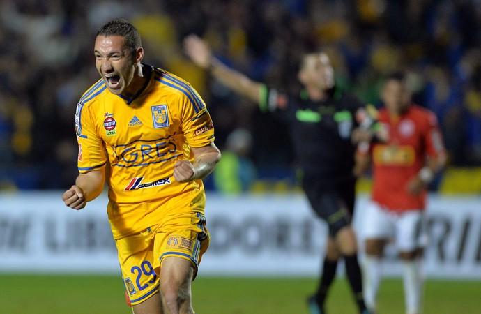 Tigres 3 x 0 Juan Aurich Libertadores (Foto: EFE)