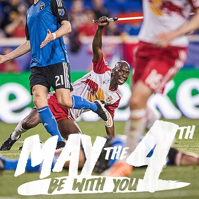 "BLOG: ""May the fourth"": times de Nova York da MLS homenageiam Dia do Star Wars"