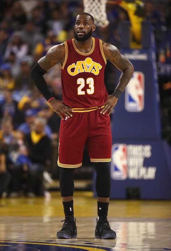 O jogador de basquete LeBron James (Foto: Getty Images)