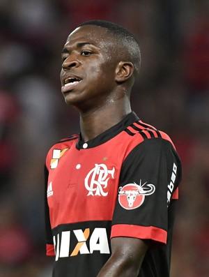 Vinicius Junior, Flamengo x Atlético-MG (Foto: Agência Estado)