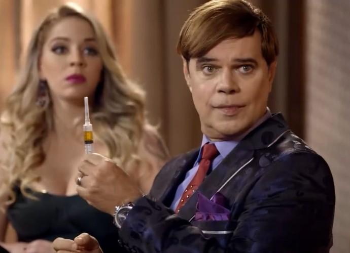 Dr Zóltan volta com tudo em nova temporada (Foto: TV Globo)