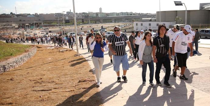 Jogo Arena Corinthians (Foto: Marcos Ribolli)