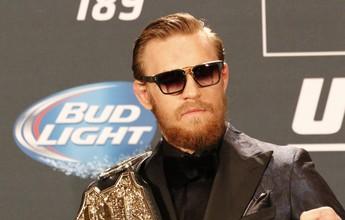 """McGregor: """"Vou aposentar José Aldo e, em seguida, dominarei o peso-leve"""""""
