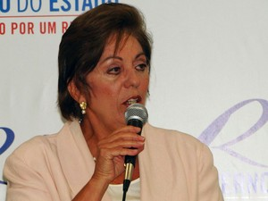 Rosalba Ciarlini, governadora do Rio Grande do Norte (Foto: Ricardo Araújo/G1)