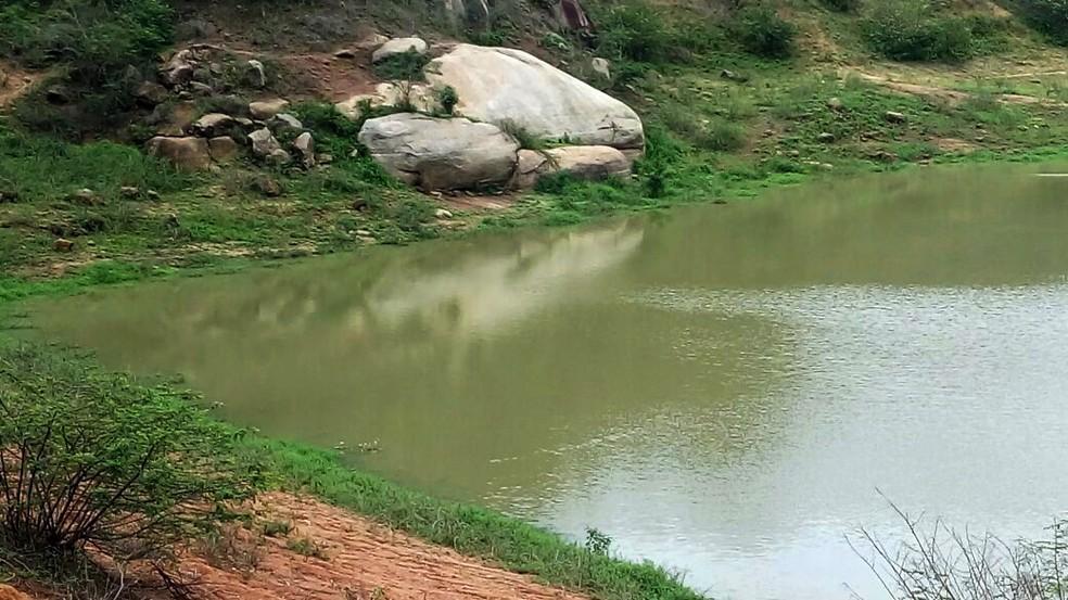 Barragem de Afetos foi uma das beneficiadas pelas chuvas em Pesqueira (Foto: Divulgação/Compesa)
