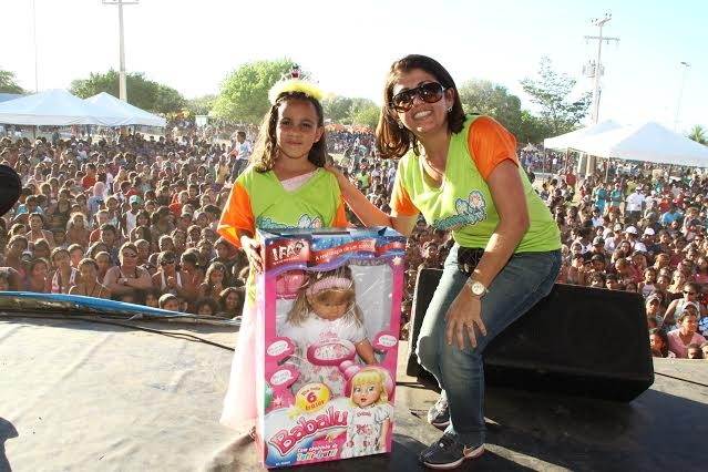 Joelma Amorim também implantou o projeto 'Criança no Parque'  (Foto: Arquivo Pessoal)