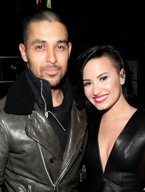 Demi Lovato e o namorado, Wilmer Valderrama (Foto: Getty Images)