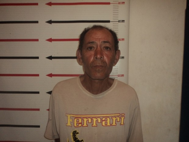 João Batista Ramos Pereira, de 54 anos, foi preso na última terça-feira (18) (Foto: Divulgação/SSP TO)