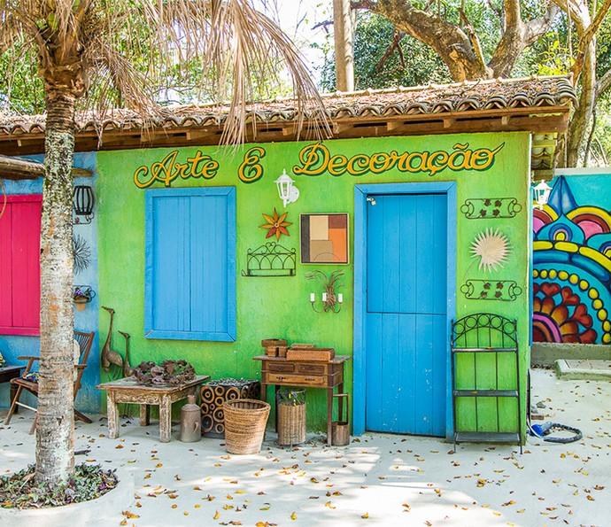 Arte e decoração num clima bem alegre e descontraído (Foto: Artur Meninea)