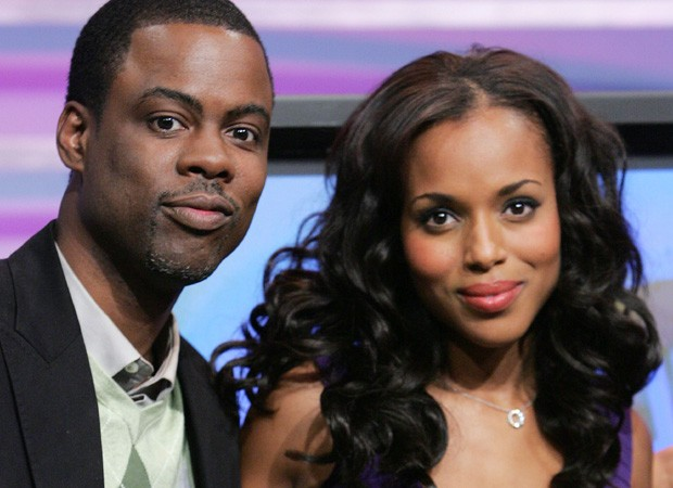Chris Rock e Kerry Washington eram amantes, segundo jornal (Foto: Getty Images)