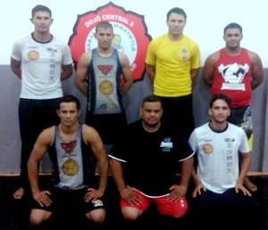 Equipe de Kung Fu (Foto: Kesio Ferreira/Arquivo Pessoal)
