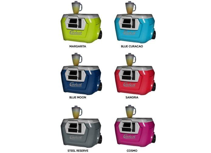 Novo cooler está disponível em seis cores (Foto: Reprodução/Kickstarter)