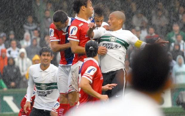 Alex Coritiba Paraná Leandro Almeida Alex Alves (Foto: Divulgação / Site oficial do Coritiba)