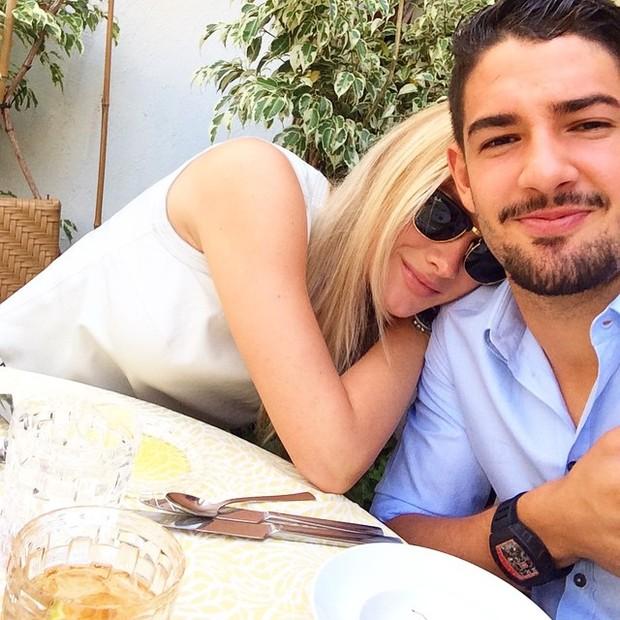 Fiorella Mattheis e Pato (Foto: Instagram / Reprodução)