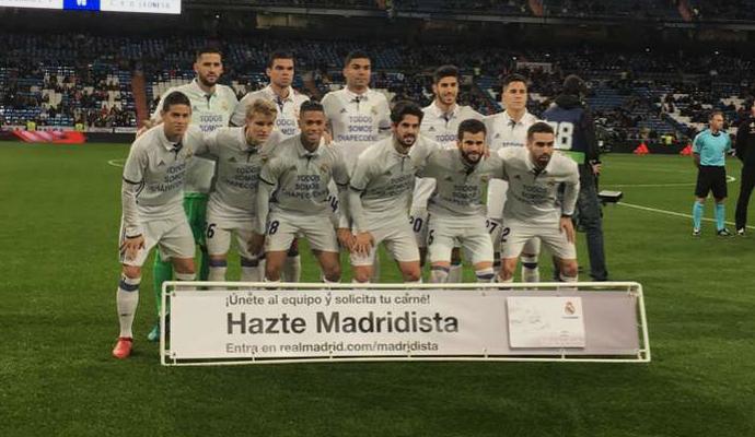 Real Madrid Chapecoense camisa (Foto: Reprodução)