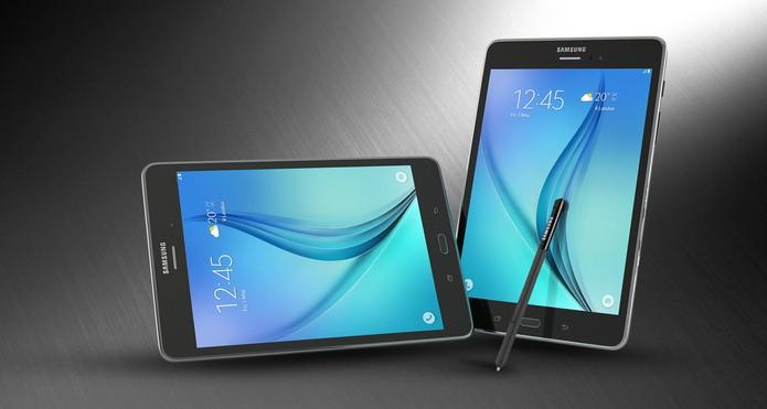 Galaxy Tab A conta com a caneta S Pen da Samsung (Foto: Divulgação/Samsung)
