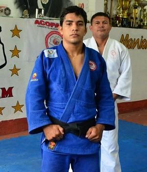 Judoca amazonense Adriano Rodrigues busca resultado expressivo no Troféu Brasil Interclubes (Foto: Divulgação/Sejel)