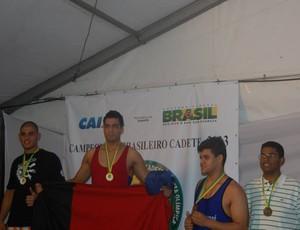 Pedro Henrique Soares, Paraíba, Luta olímpica (Foto: divulgação)