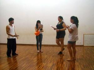 Grupo faz ensaio de apresentação teatral em oficinas culturais de Rafard (Foto: Divulgação/Prefeitura de Rafard)