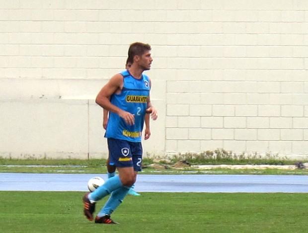 Fellype Gabriel no treino do Botafogo (Foto: Thales Soares / Globoesporte.com)