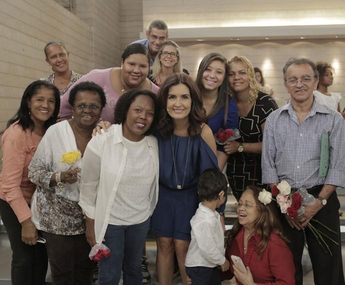 Mais plateia do 'Encontro' nos bastidores  (Foto: Ellen Soares/Gshow)