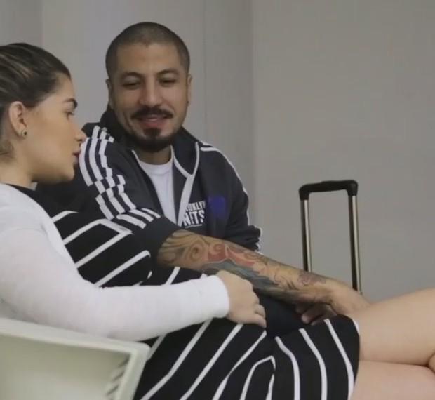 Ex-BBBs Aline e Fernando (Foto: Reprodução/Instagram)
