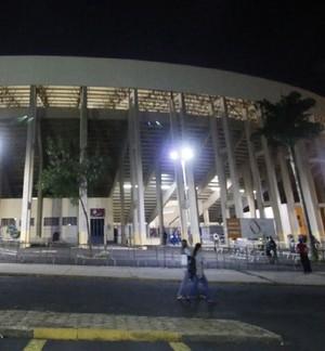 Fonte Luminosa Araraquara estádio (Foto: Cleber Akamine)