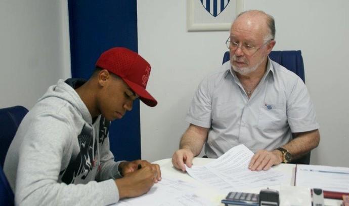 Gabriel Avaí (Foto: Alceu Atherino/Avaí FC)