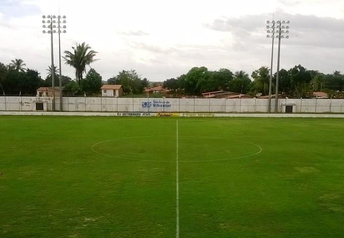 Estádio Dário Santos em São José de Ribamar (Foto: Bruno Alves/Globoesporte.com)