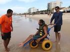 Em Macaé, RJ, projeto 'Praia para todos' não funciona neste domingo