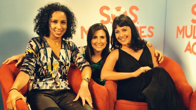 Thalita Carauta, Cristiane Amaral e  Fabiula Nascimento  (Foto: Arquivo Pessoal)