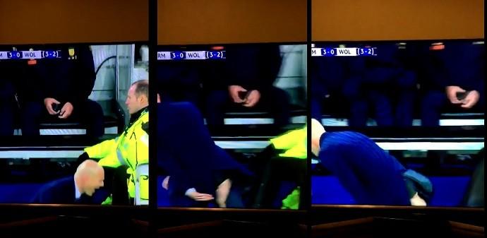calça Zidane rasgada
