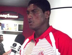 Max América-RN (Foto: Tiago Menezes / Globoesporte.com)