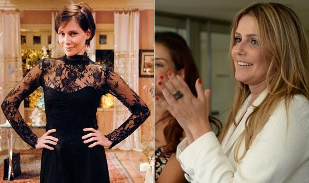 Déborah Secco mudou radicalmente o visual (Foto: Divulgação/TV Globo)