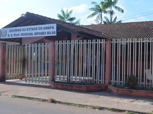 Escola, Santana, quatro vezes furtada, Amapá,  (Foto: Jorge Abreu/G1)