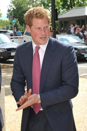 Principe Harry nos EUA (Foto: Agência AFP)