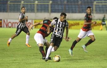 """Ceará dribla ataque """"nublado"""", acorda no fim e bate Guarany de Sobral: 2 a 0"""