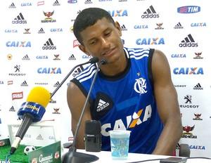 Márcio Araújo no treino do Flamengo (Foto: Vicente Seda)